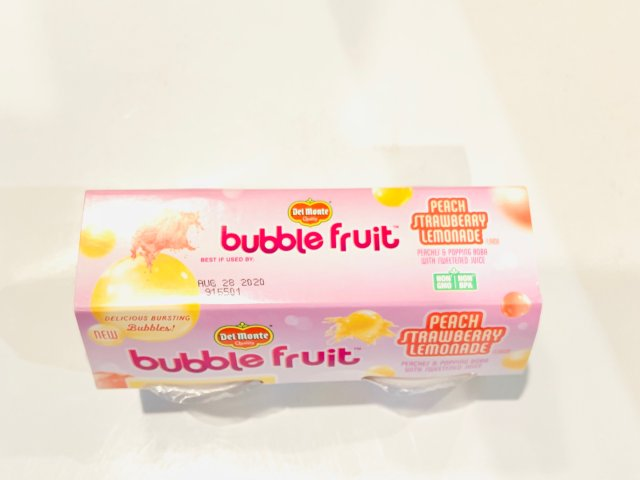鼠年3⃣️bubble fruit