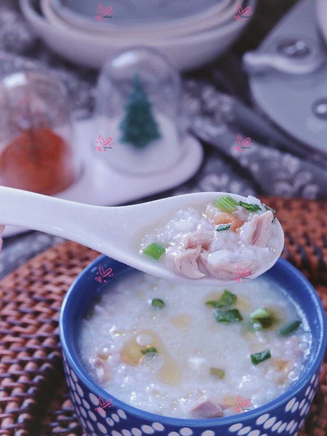 ❤️ 【快手鸭架麻油粥】从残羹剩饭...