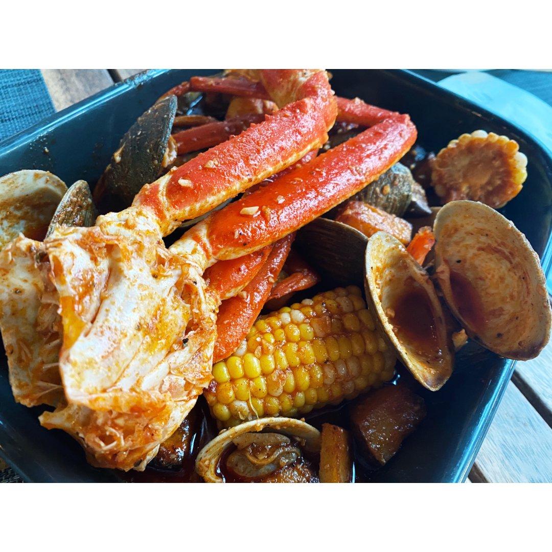 罗德岛的海鲜大餐🍴