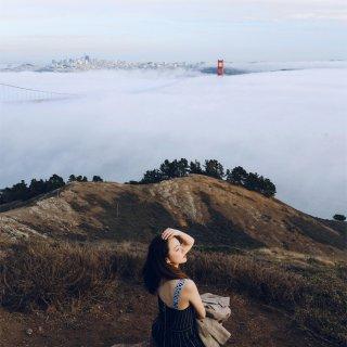 旧金山约拍|天空和海都是蓝色的...