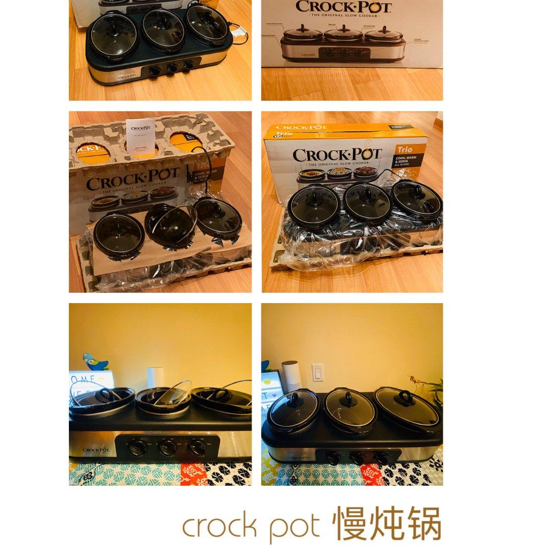 微众测:crock pot慢炖锅,...