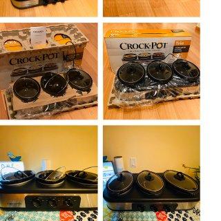 微众测:crock pot慢炖锅,一锅三吃值得拥有!