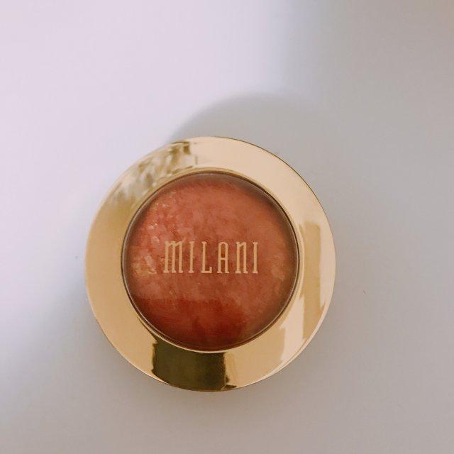 真香-一颗大橘子milani烘焙腮红