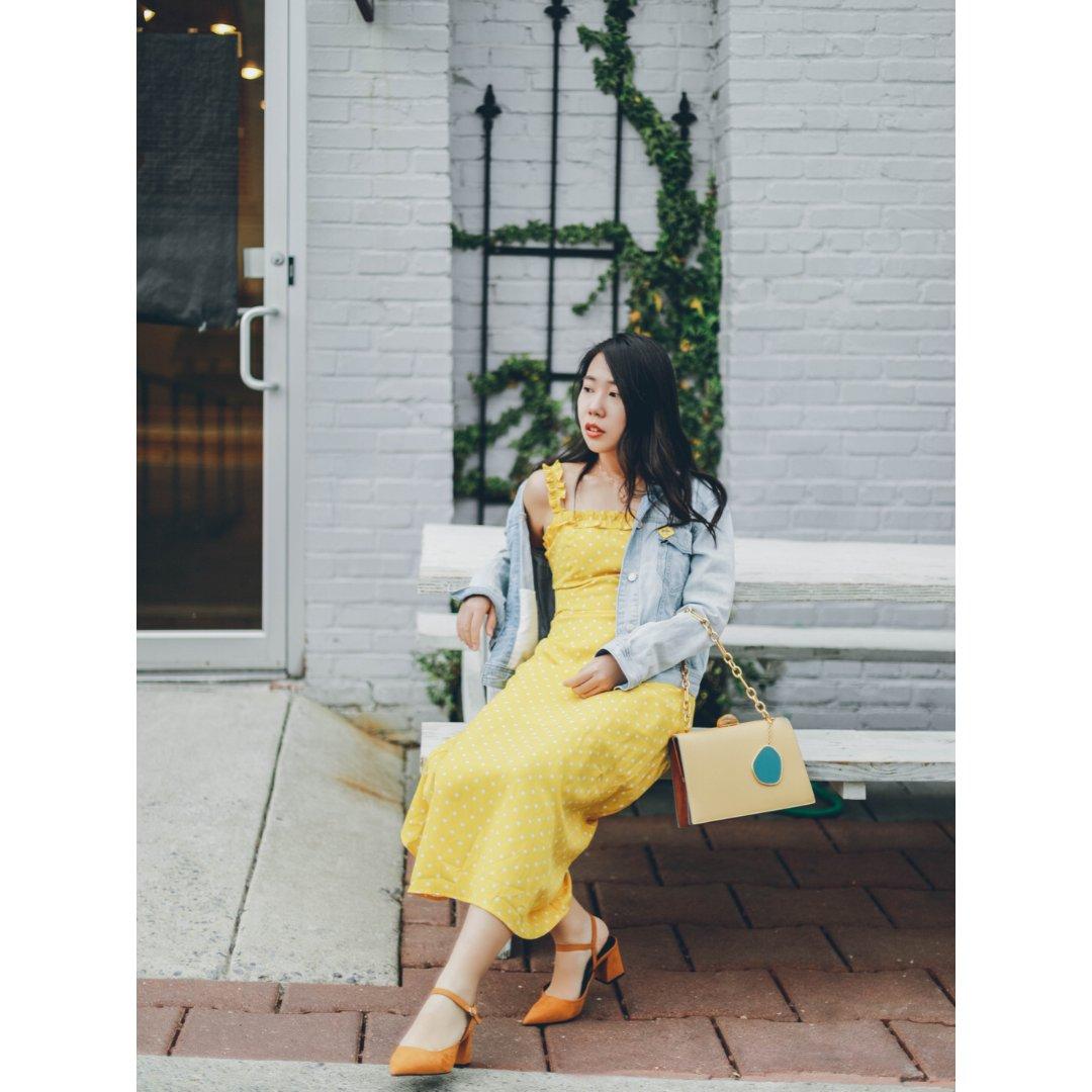 兔爷穿搭 / 春夏必备的小黄裙
