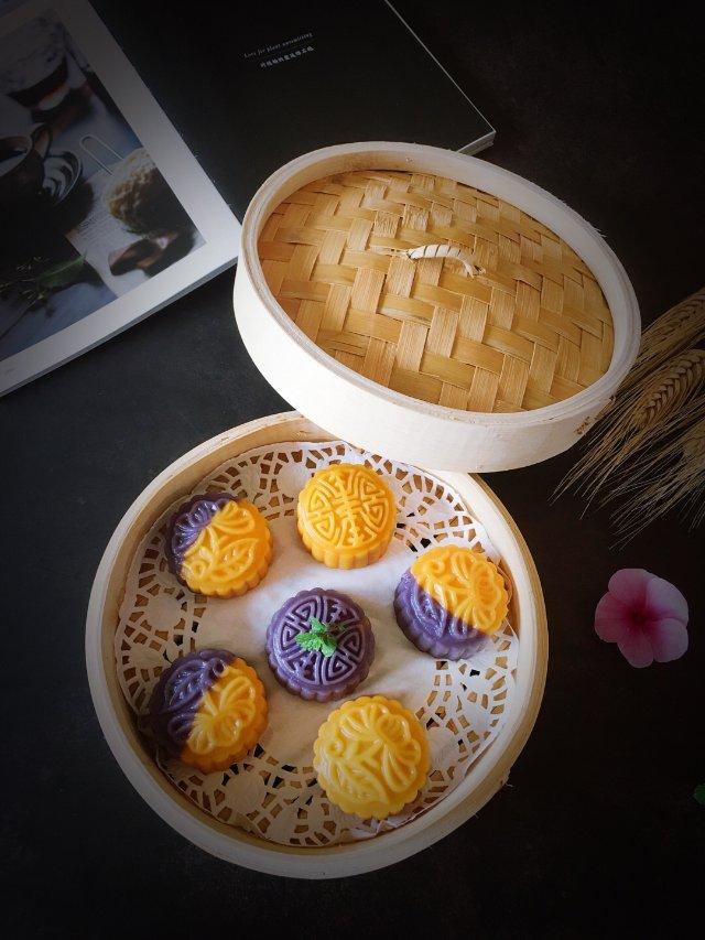 ✨自制不一样的中秋月饼 | 软糯香...