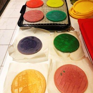 神仙颜值的彩虹生日蛋糕...