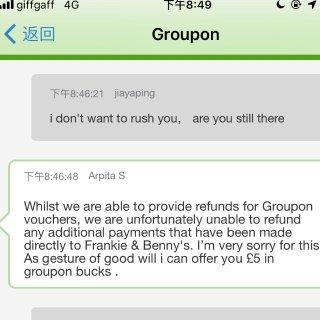 垃圾的 购物体验 再也不在 Groupo...