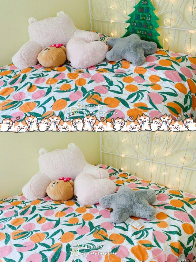 🍑它好看它怎么都对的蜜桃女孩必备床品!