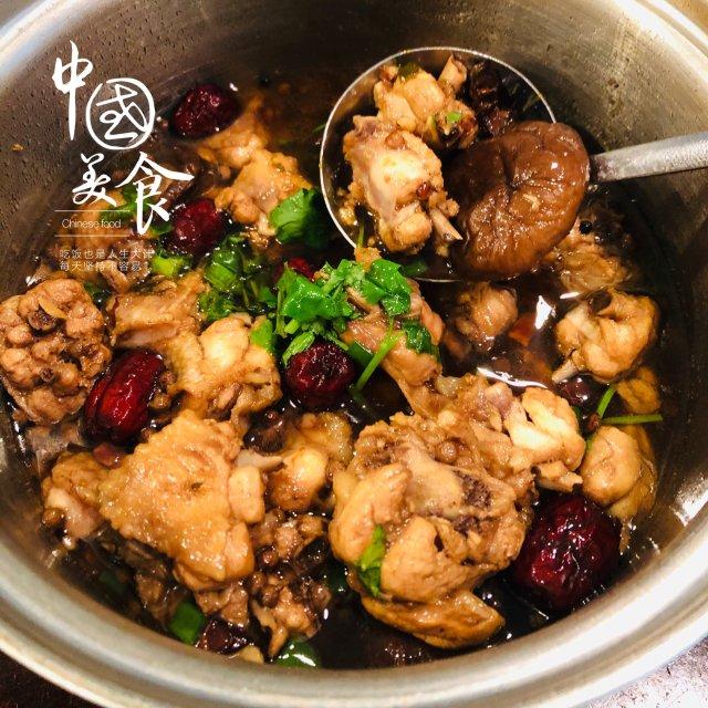 自制美食分享|小鸡炖蘑菇🍄