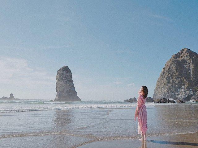 遇见最美海滩🌊Cannon Beach