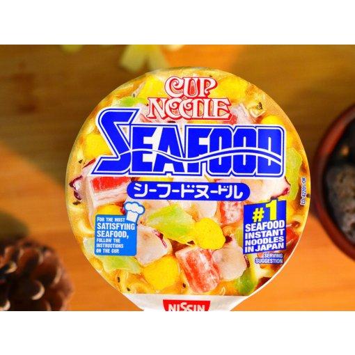 【网购】亚米买什么6|日清合味道海鲜风味杯面