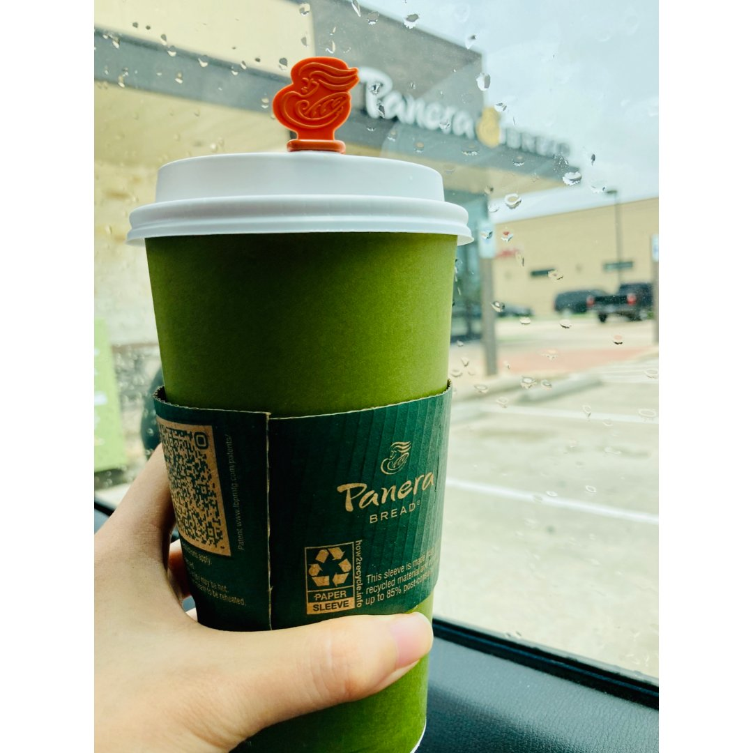 ☕️Panera家的咖啡和这个下雨...