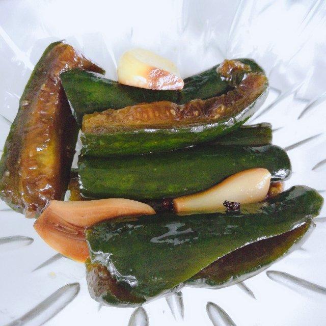 佐粥下饭的小菜👉油黄瓜🥒