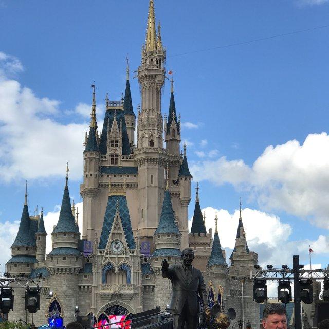Magic Kingdom是来迪士...