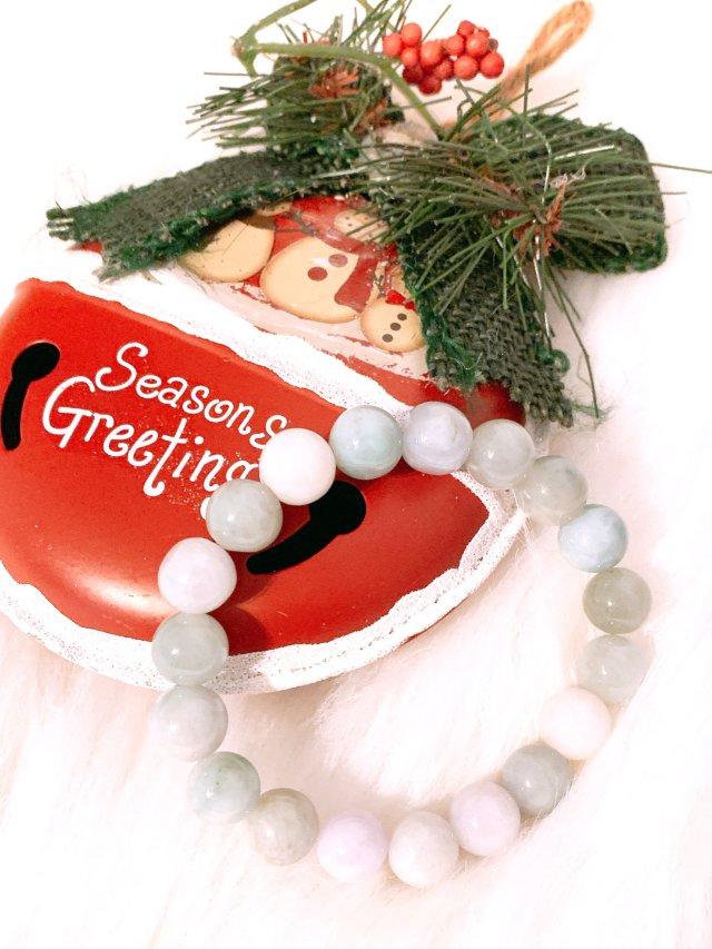 圣诞礼物~翡翠手链