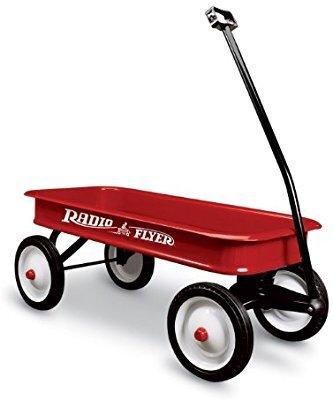 红色经典款小拖车