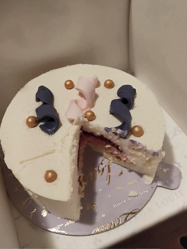 mini cake from BO...