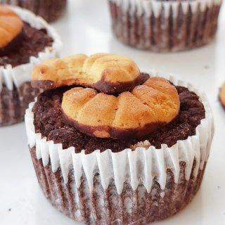 低碳减脂生酮🉑网红可可粑粑糕|烤箱烘焙...