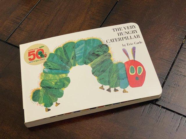 📚Baby Book -饥饿的毛毛虫
