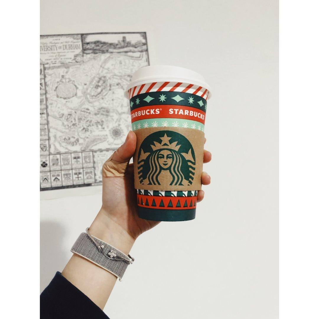 快乐!星巴克圣诞小杯杯get