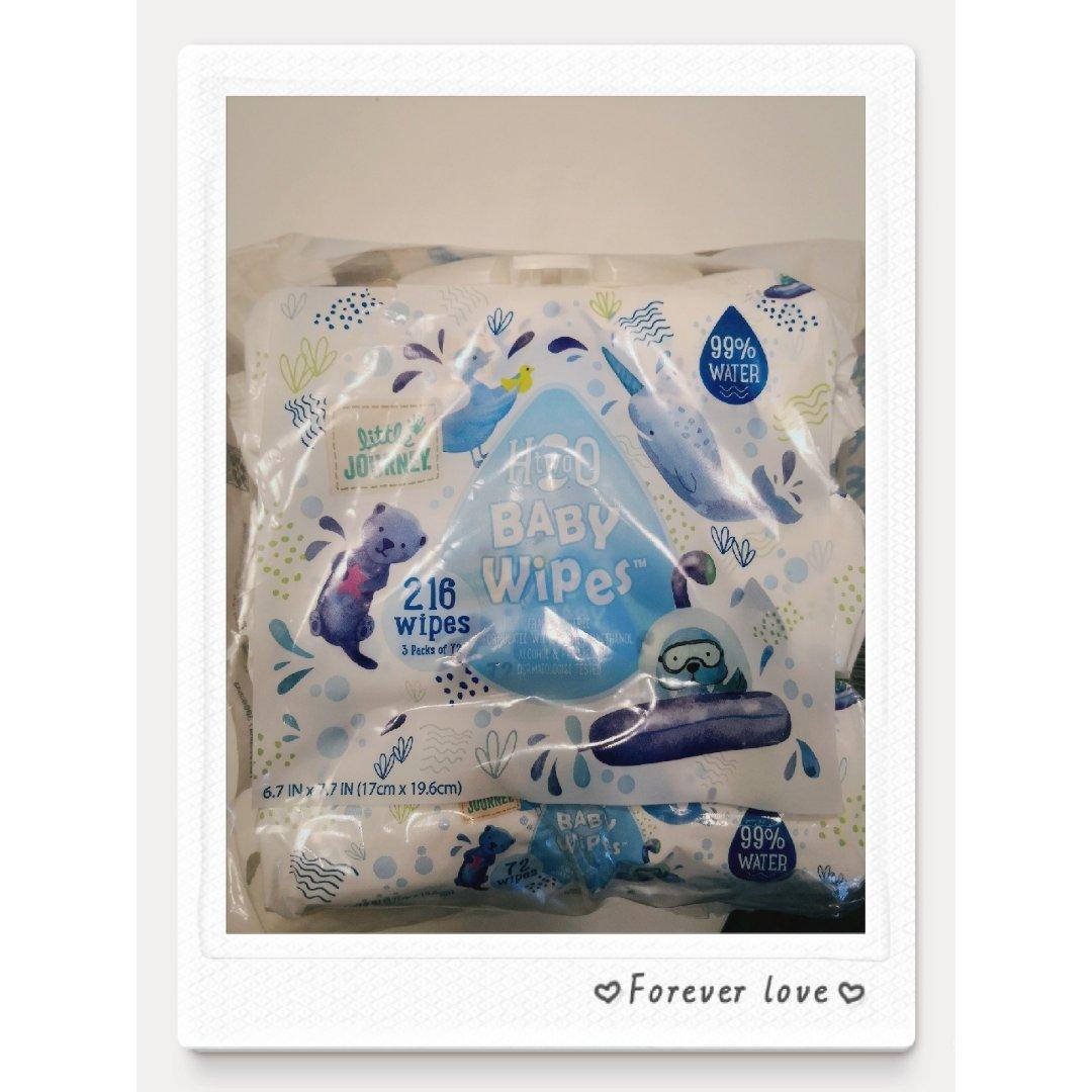 可爱方便的湿纸巾