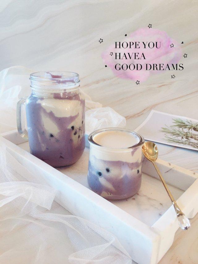 ✨今日份的饮品|紫薯芋泥珍珠奶茶✨