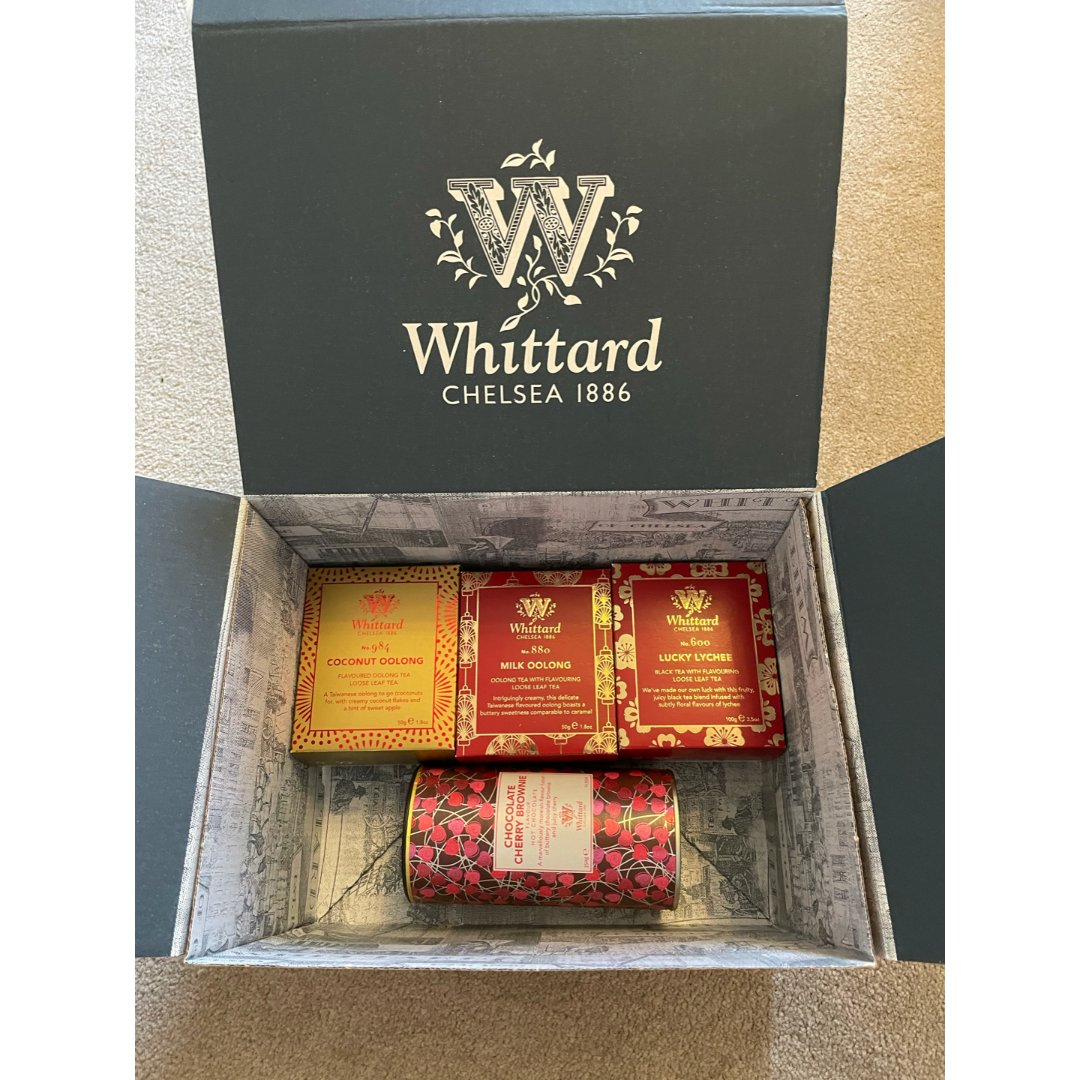 唯一次欧气爆棚中的Whittard礼盒...