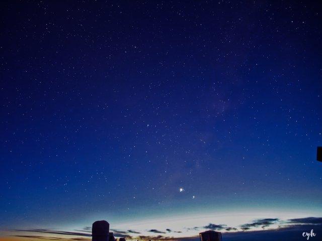 穿越几百万光年的相遇|星空拍摄