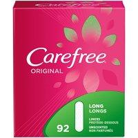 Carefree 加长型超薄护垫 92片