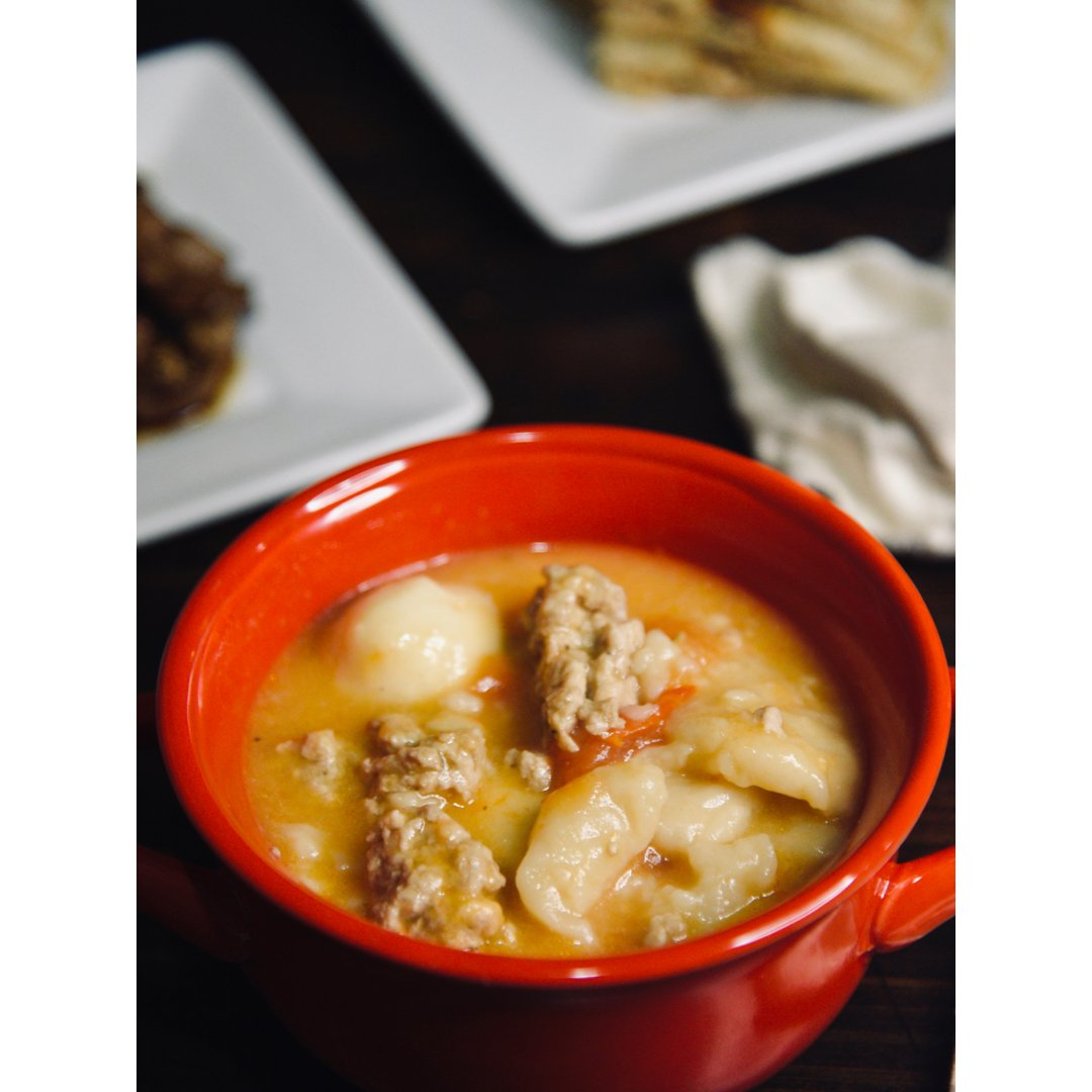 面疙瘩汤|暖心暖胃好味道😋