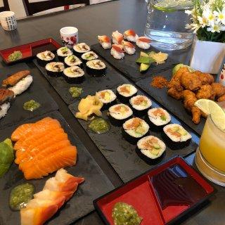 私房日本和牛寿司盛宴🍣🍶🍹😋...