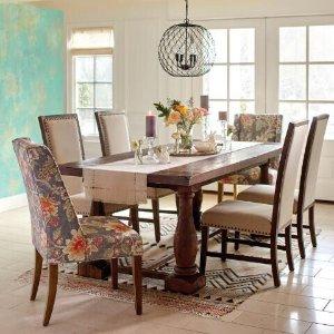 Rustic Java Greyson Fixed Dining Table @ World Market