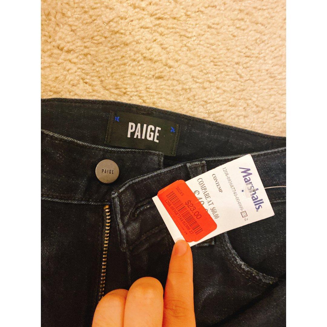 Paige牛仔裤