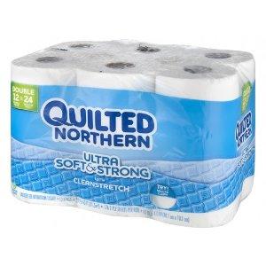 买一送一Quilted Northern 超柔软厕纸12卷