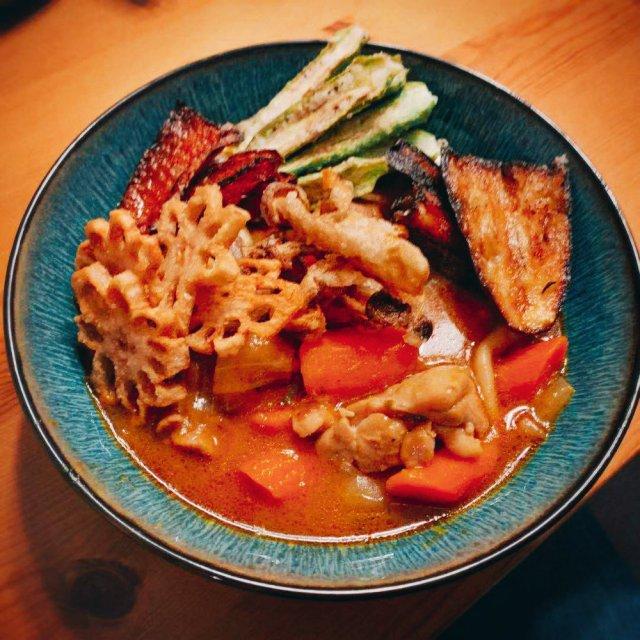 冬天来做一碗北海道咖喱吧!