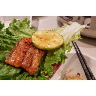 有了象印电火锅韩式烤肉在家就能吃到啦...