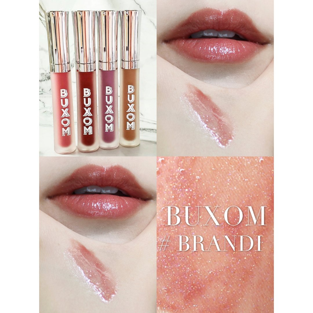 唇蜜水嫩玻璃唇BUXOM #BRANDI...