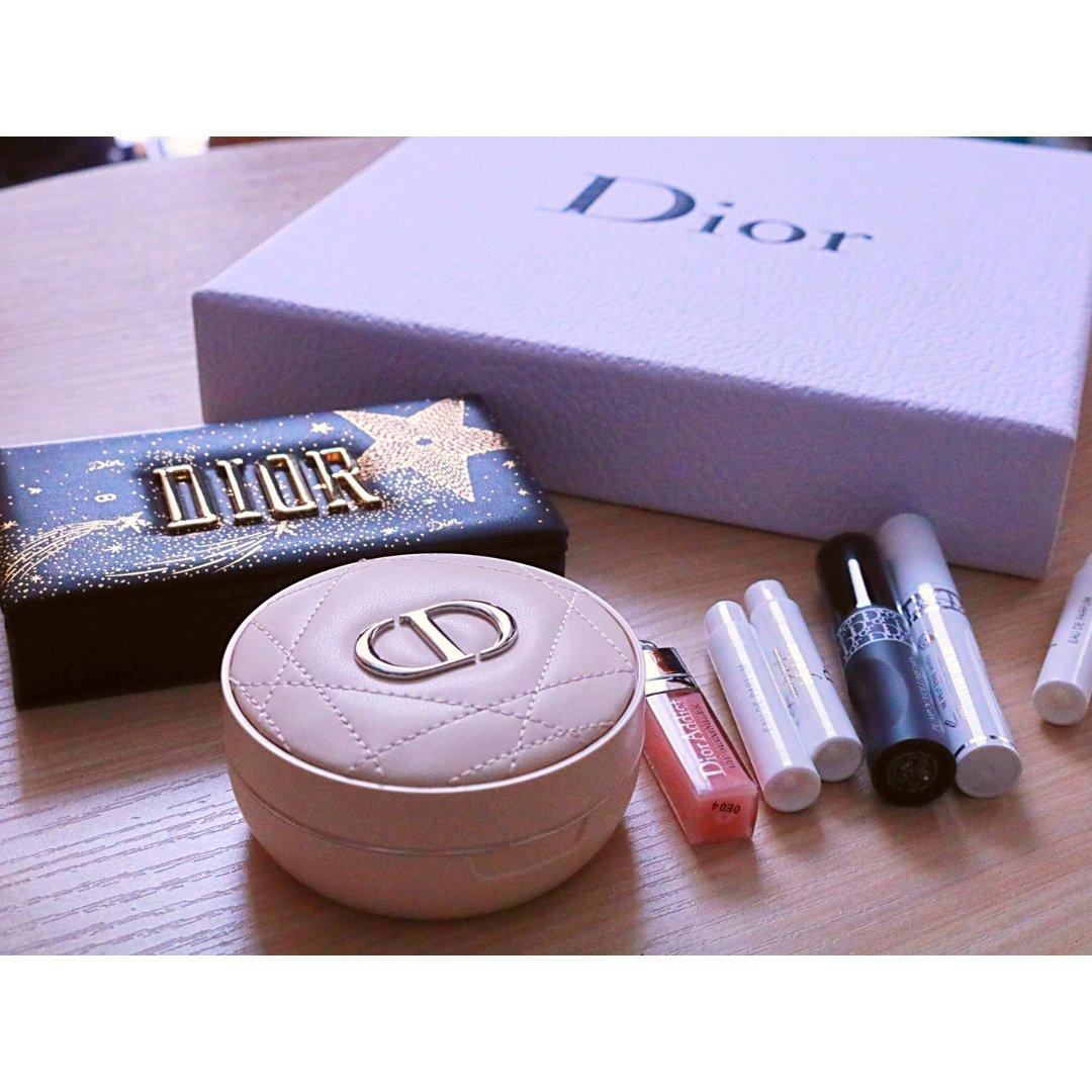 劝退?Dior 2020圣诞🤩气垫散粉+...