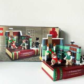 乐高赠品 圣诞颂歌·致敬查尔斯狄更斯...