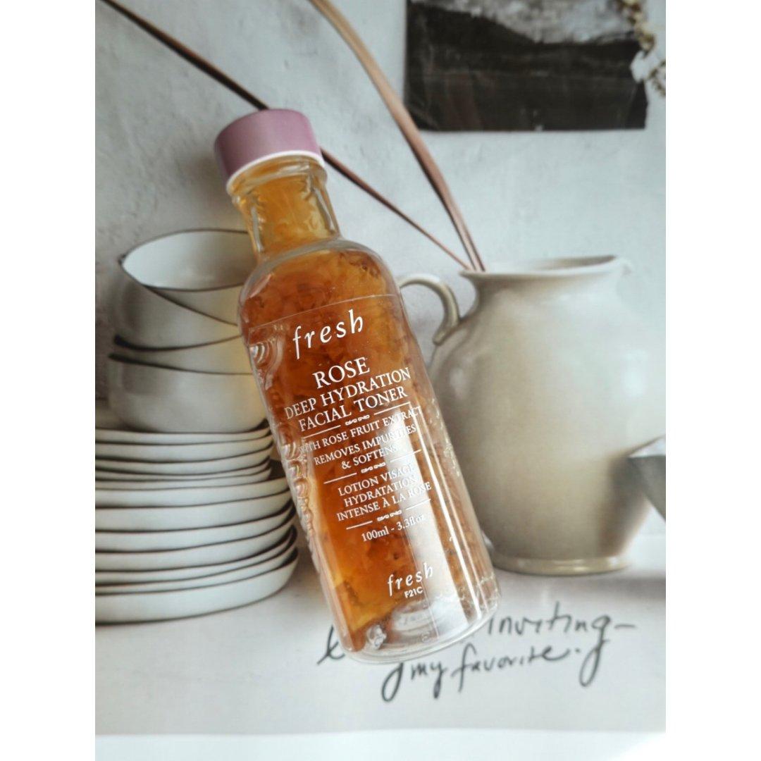 护肤水|Fresh 玫瑰水使用感受:🉑️