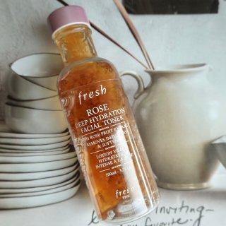 护肤水 Fresh 玫瑰水使用感受:🉑️...