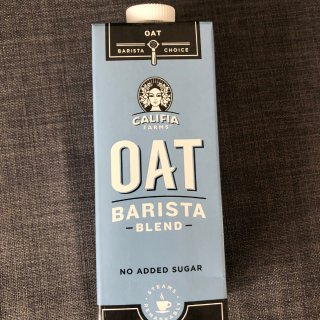 Oat latte 不输Costa的燕麦...