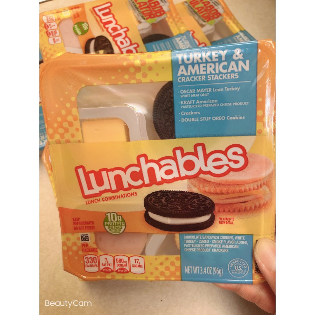 Target 的Lunchables