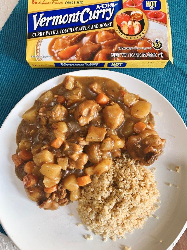 零失败快手日式咖喱鸡饭。