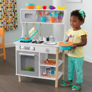 $59.99KidKraft All Time Play Kitchen with Accessories @ Walmart
