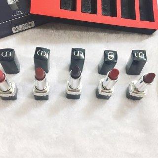 Dior Rouge mini套装+年度爱用口红分享