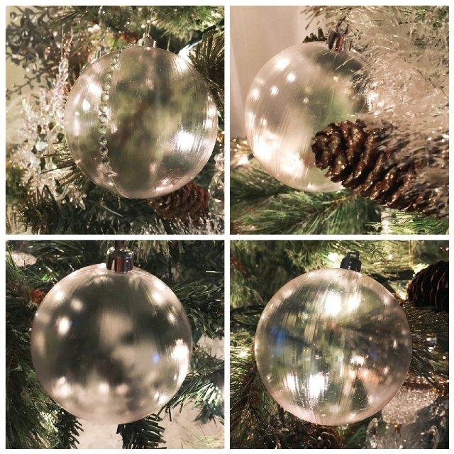 圣诞挂件——透明篇