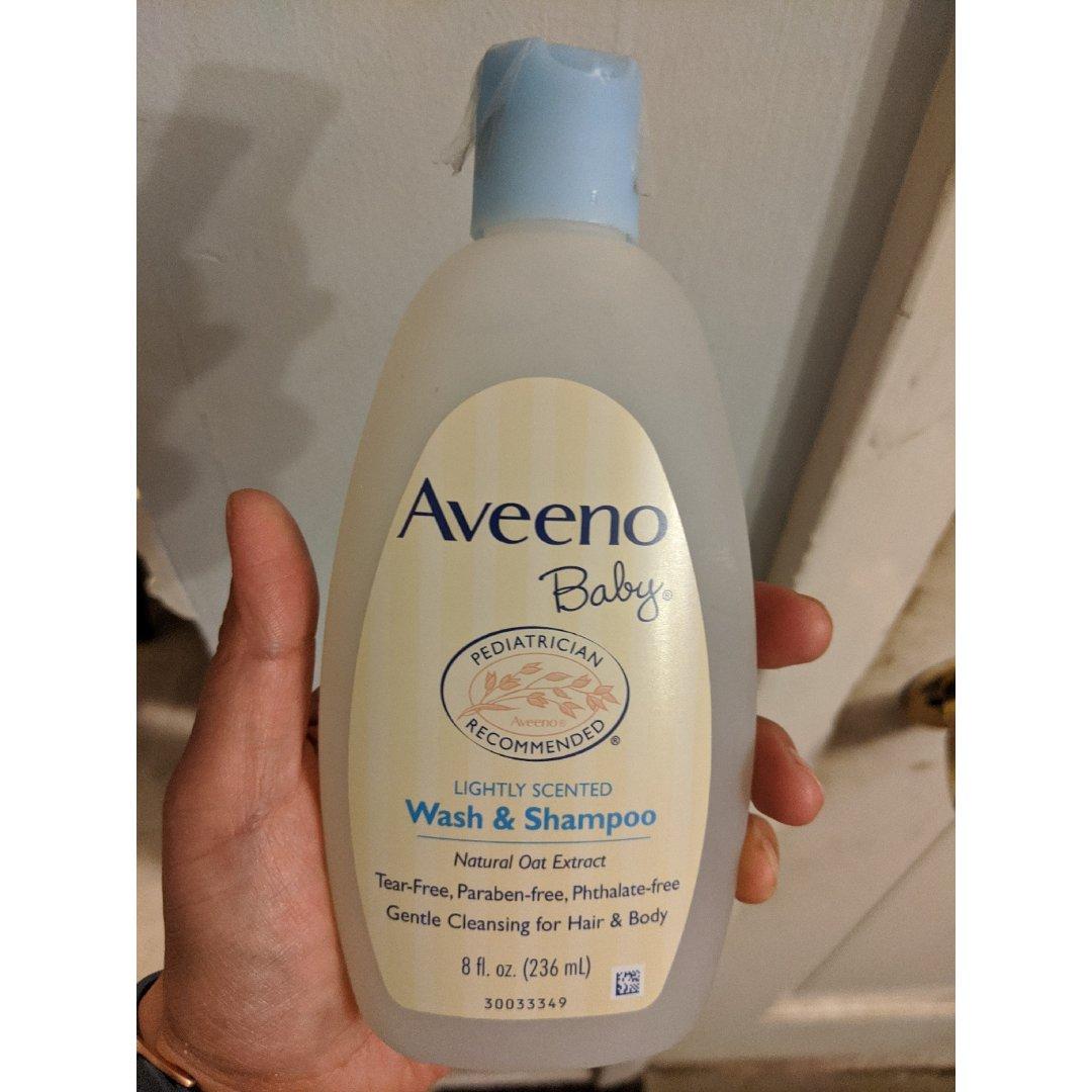 入手一瓶新的aveeno 洗发沐浴液