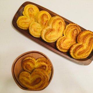 🧡💛椰蓉爱心包|做个面包都是爱你的形状...