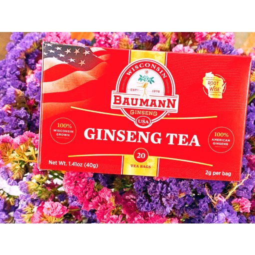 Baumann花旗参茶|香浓好味道 品质看得到